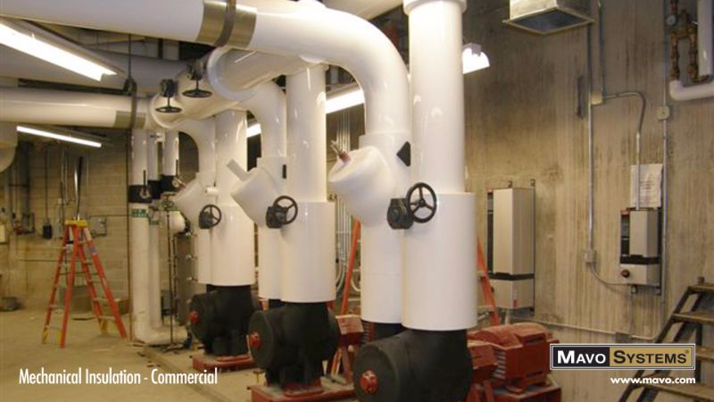 Mechanical Insulation - Commercial and Industrial - Mavo Systems